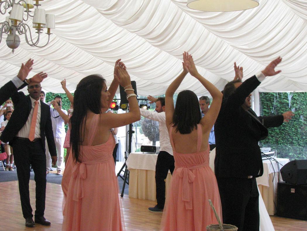 Dança da Entrada da Sala