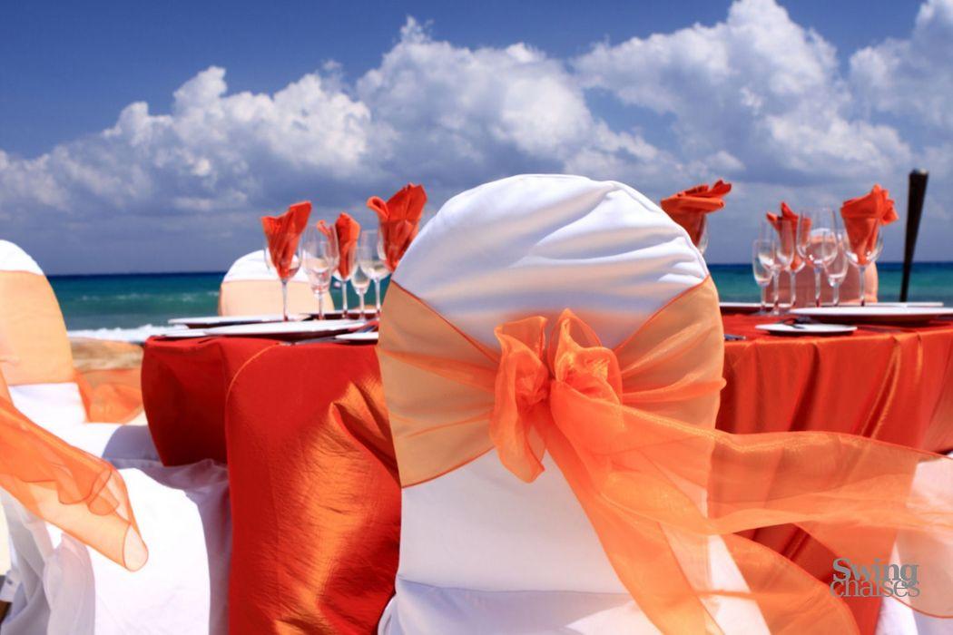 Location housses de chaises, en tissu coton, pour chaises Miami, Banquet, Coque, Pliante, Bistrot...
