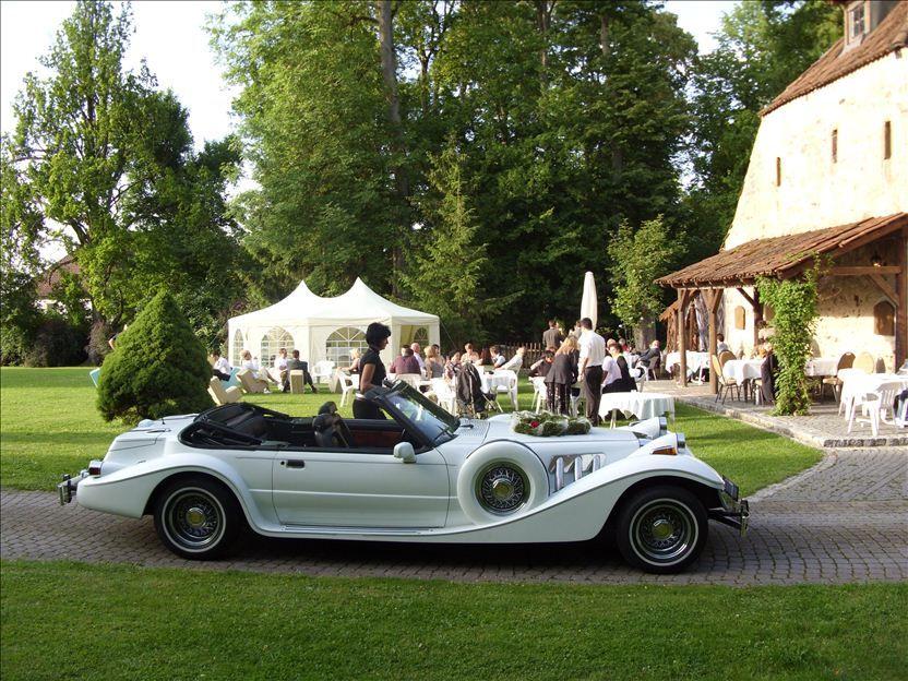 Beispiel: Event mit Oldtimer, Foto: Schloss Geyersberg.