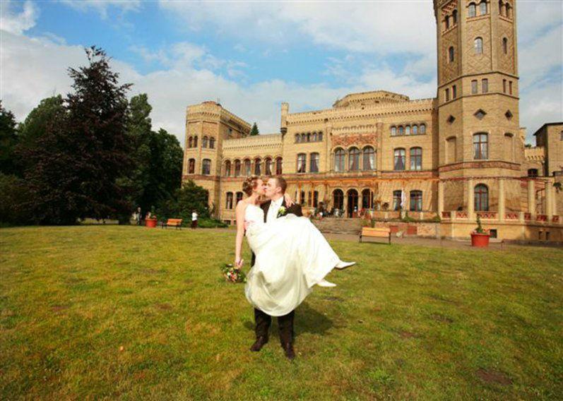 Beispiel: Ihre Hochzeit auf dem Schloss, Foto: Schloss Neetzow.