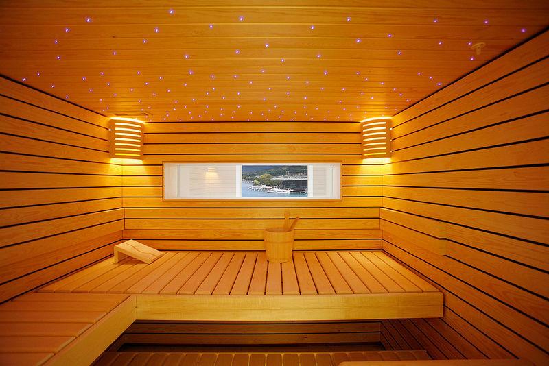 Sauna Foto: Hotel Schweizerhof Luzern