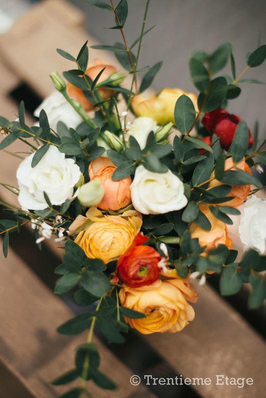 Détails de la décoration réalisée pour le salon Happy Day Factory  Crédit photo : Trentième Etage