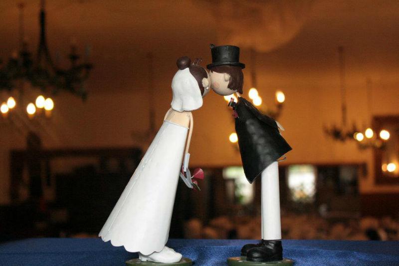 Beispiel: Hochzeitsdekoration, Foto: Hotel Schöne Aussicht.