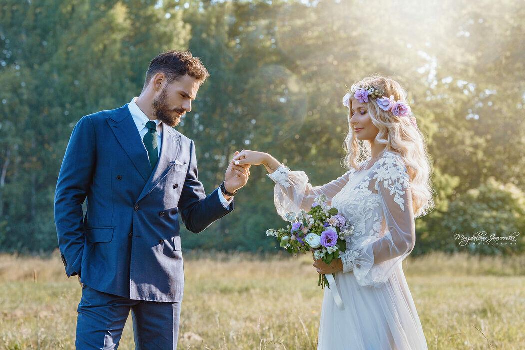 Mucha z Welonem Wedding Planners