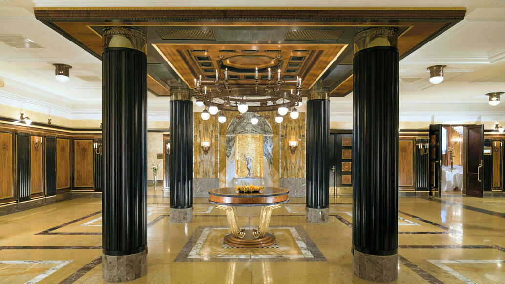 Beispiel: Lobby, Foto: Le Méridien Gran Hotel Nürnberg.