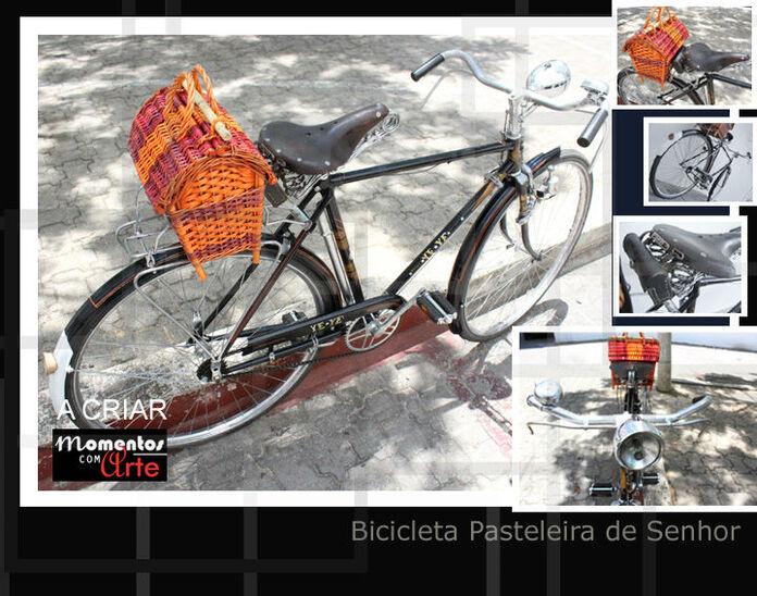 Bicicleta pasteleira de senhora