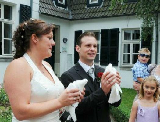 Hochzeitstauben Schleuter