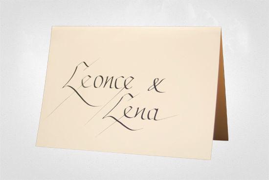 Event Calligraphy