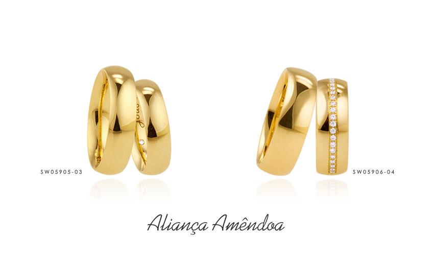 Aliança Amêndoa