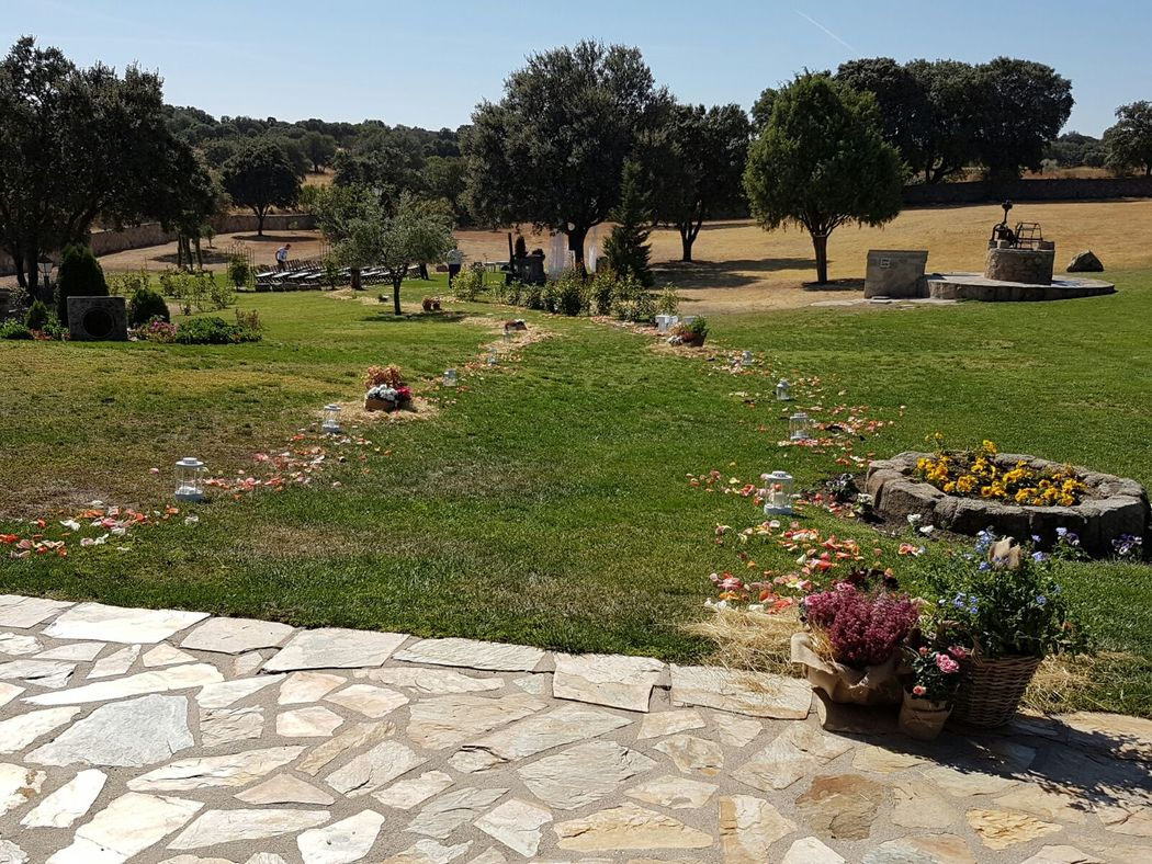 Jard n de la vereda bodas for Jardin de la vereda