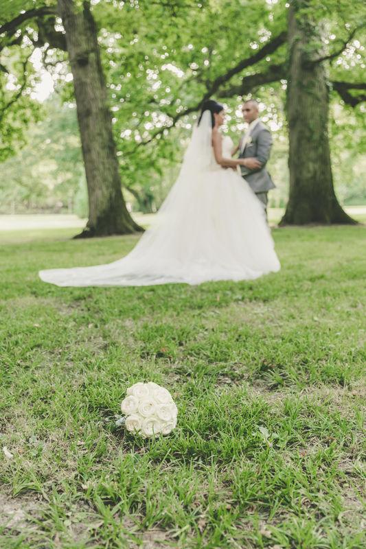 Nos Mariés dans le parc