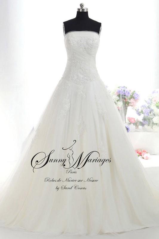 robe de mariée, collection 2016, robe de mariée dentelle
