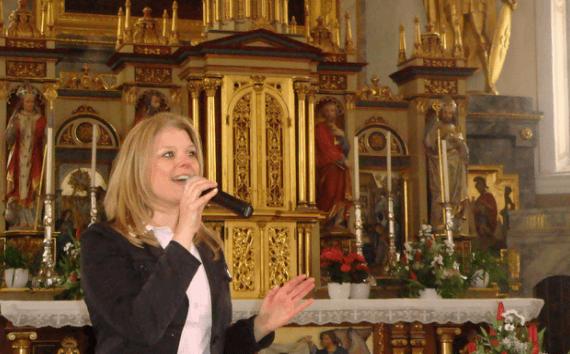 Sängerin Stephanie Meissner