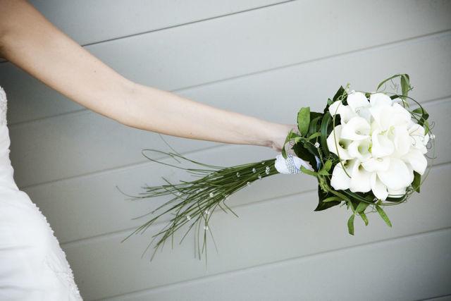 Beispiel: Individuelle Hochzeitssträuße, Foto: Hochzeitsblumen.ch.