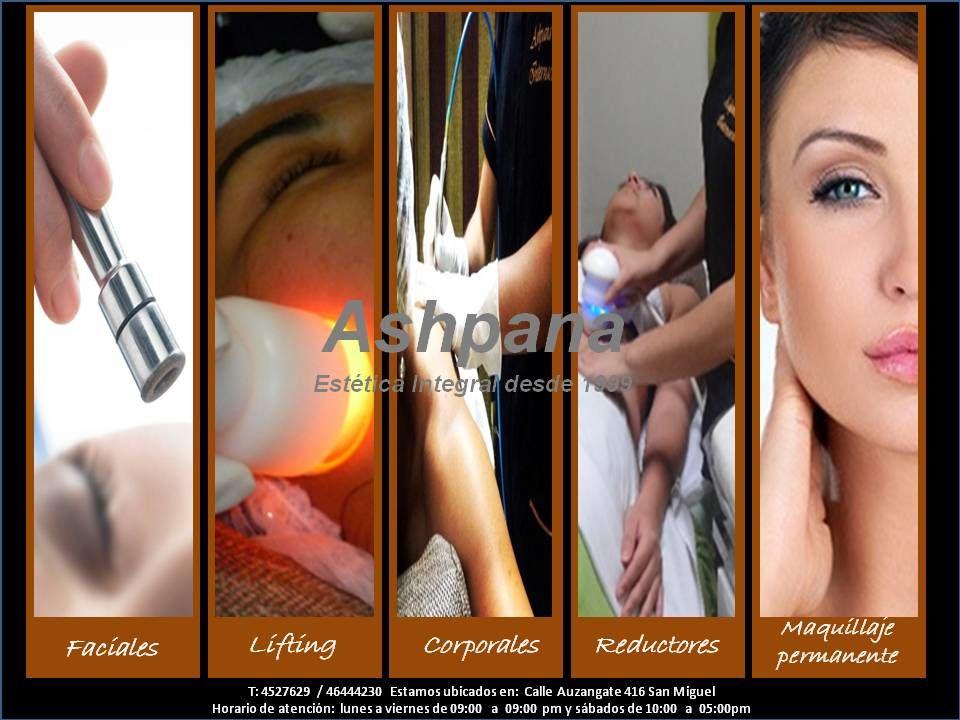Ashpana Internacional - Estética