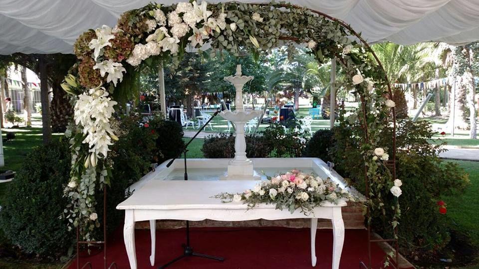 Altar junto a la Fuente