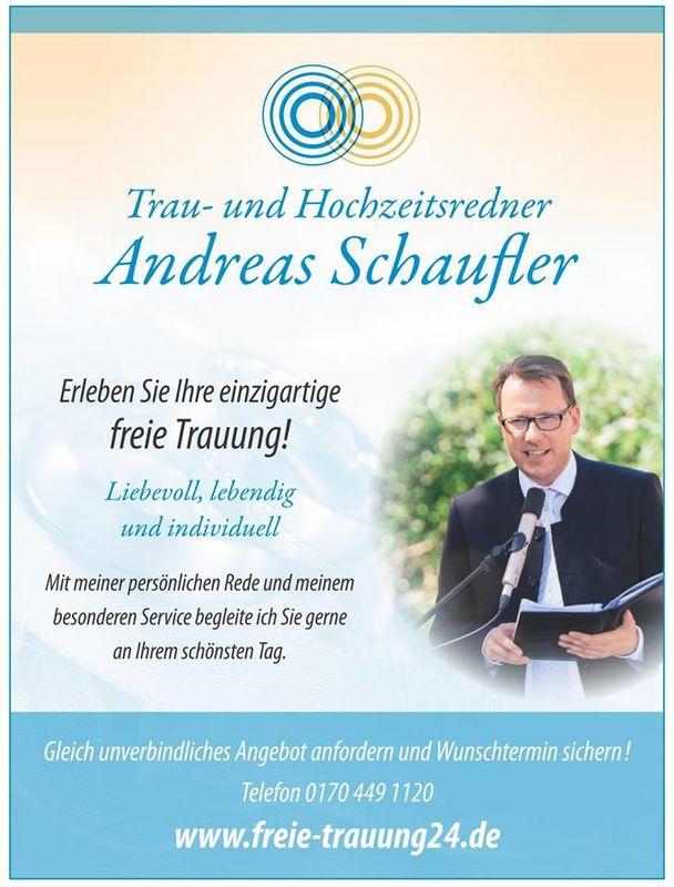 Freier Redner, Andreas Schaufer