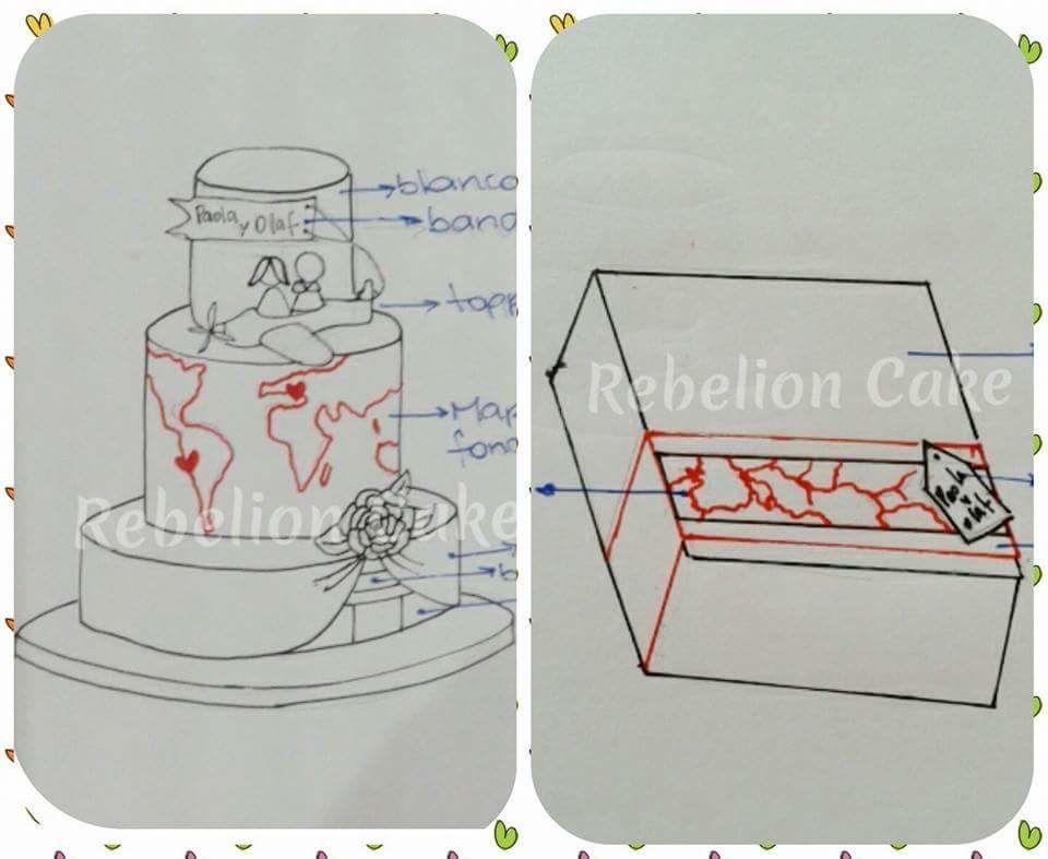 Rebelion Cake Wedding