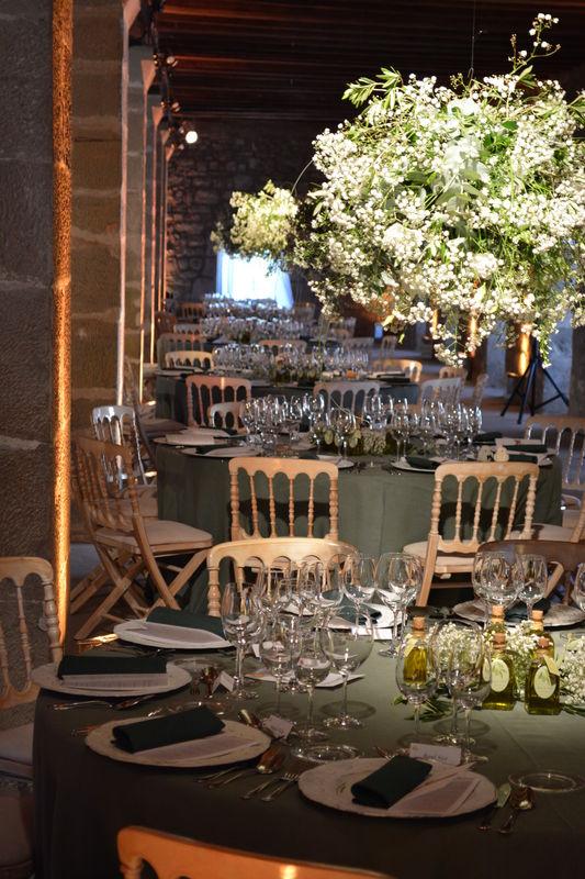 Centros de mesa - banquete