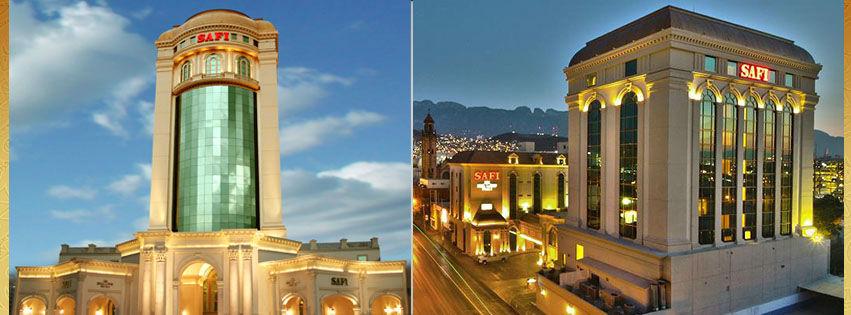 Hotel Safi Towers en Monterrey, Nuevo León  Hotel Safi Valle en  San Pedro Garza García, Nuevo León