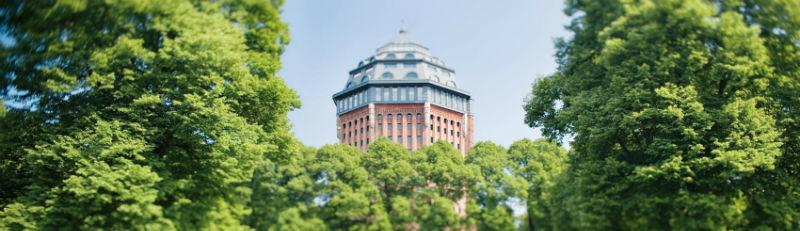 Beispiel: Turm des Hotels, Foto: Mövenpick Hotel Hamburg.
