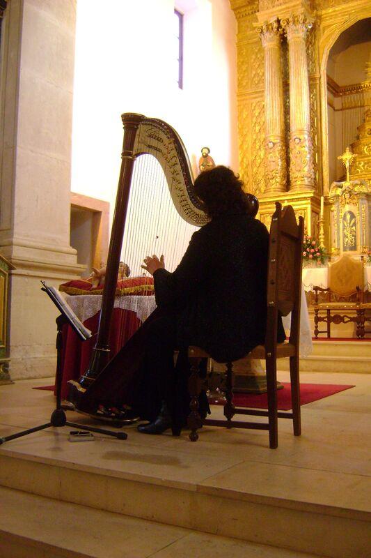 Harpista Ana Silva