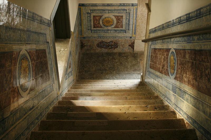 Foto: Palácio do Ramalhete escadaria da entrada