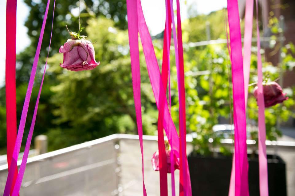 Beispiel: Hochzeitsdeko, Foto: Kursalon Mödling.