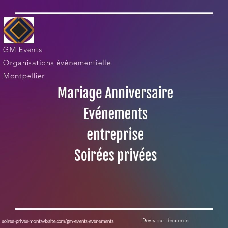 GM Evénts Montpellier