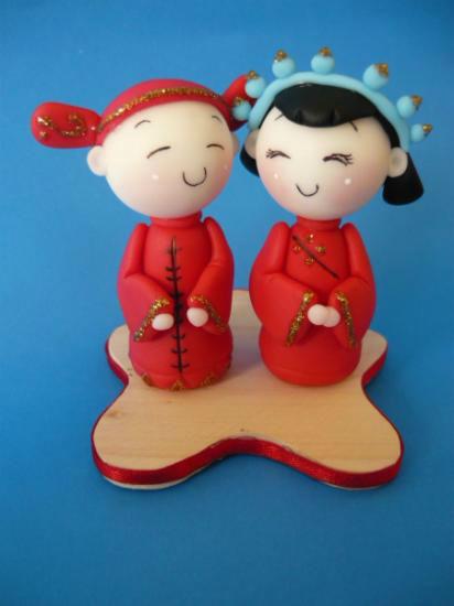 recuerdo de matrimonio chino