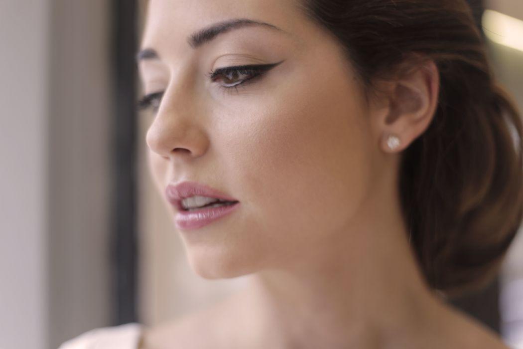 Lisa Bodrug maquillaje natural de novia
