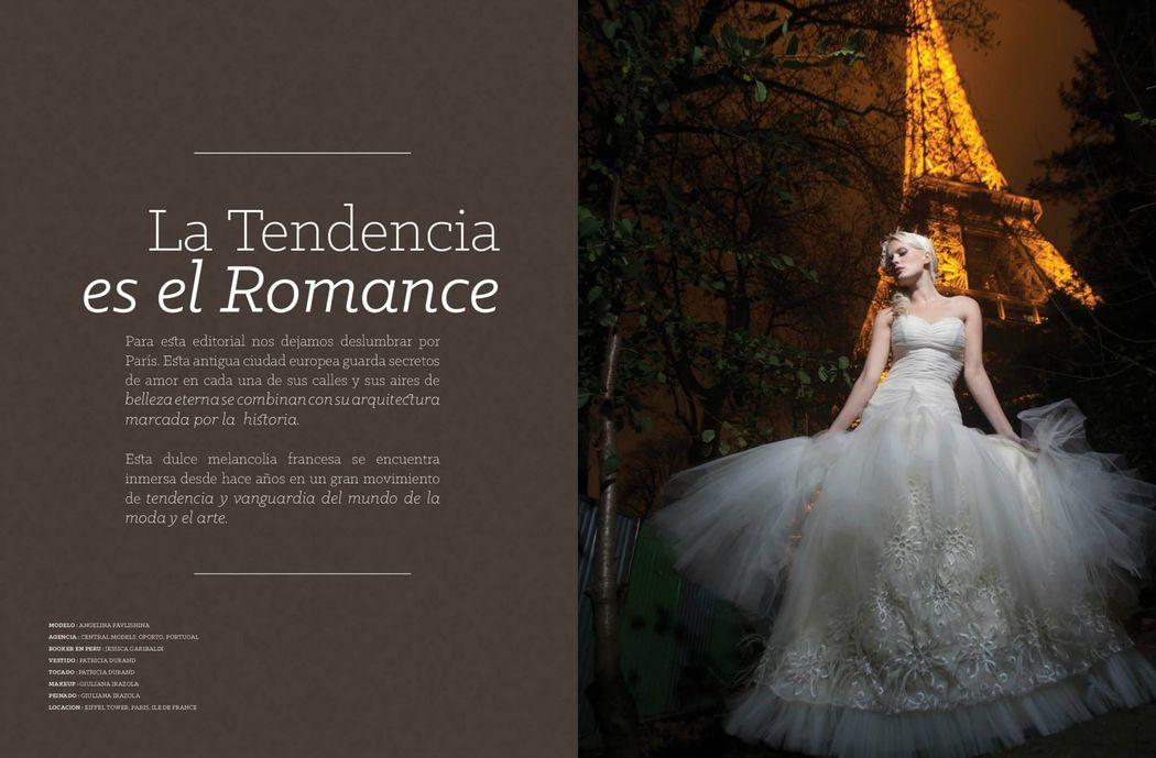 Editorial en Paris para Revista Casate y Punto