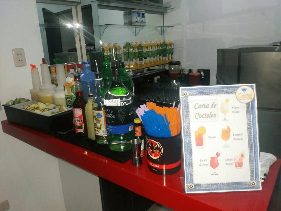 Cóctel Open Bar