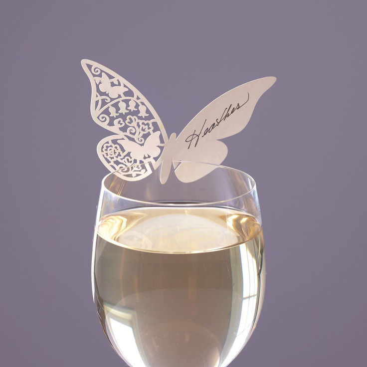 Mariposas para copas