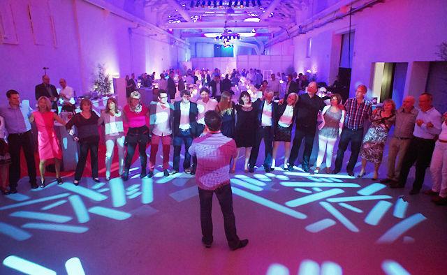 Beispiel: Stimmung für Ihre Hochzeitsfeier, Foto: Dirk Baumbach Live.