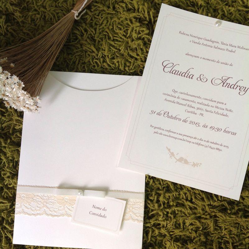 Flor de Papel Convites Especiais