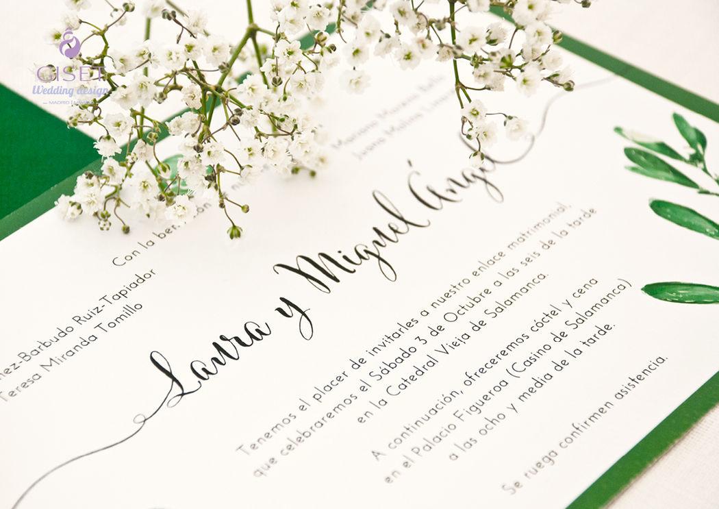 Invitaciones vegetales