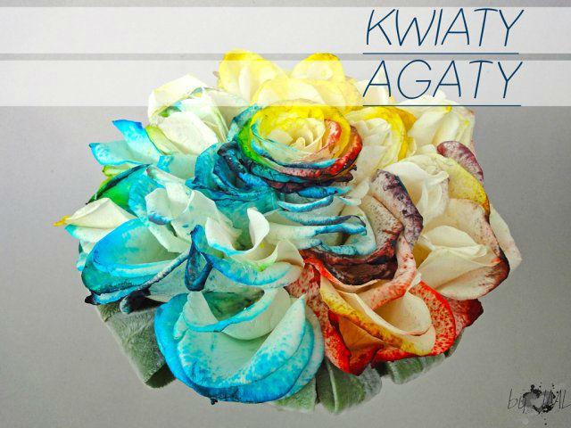 Kwiaty Agaty
