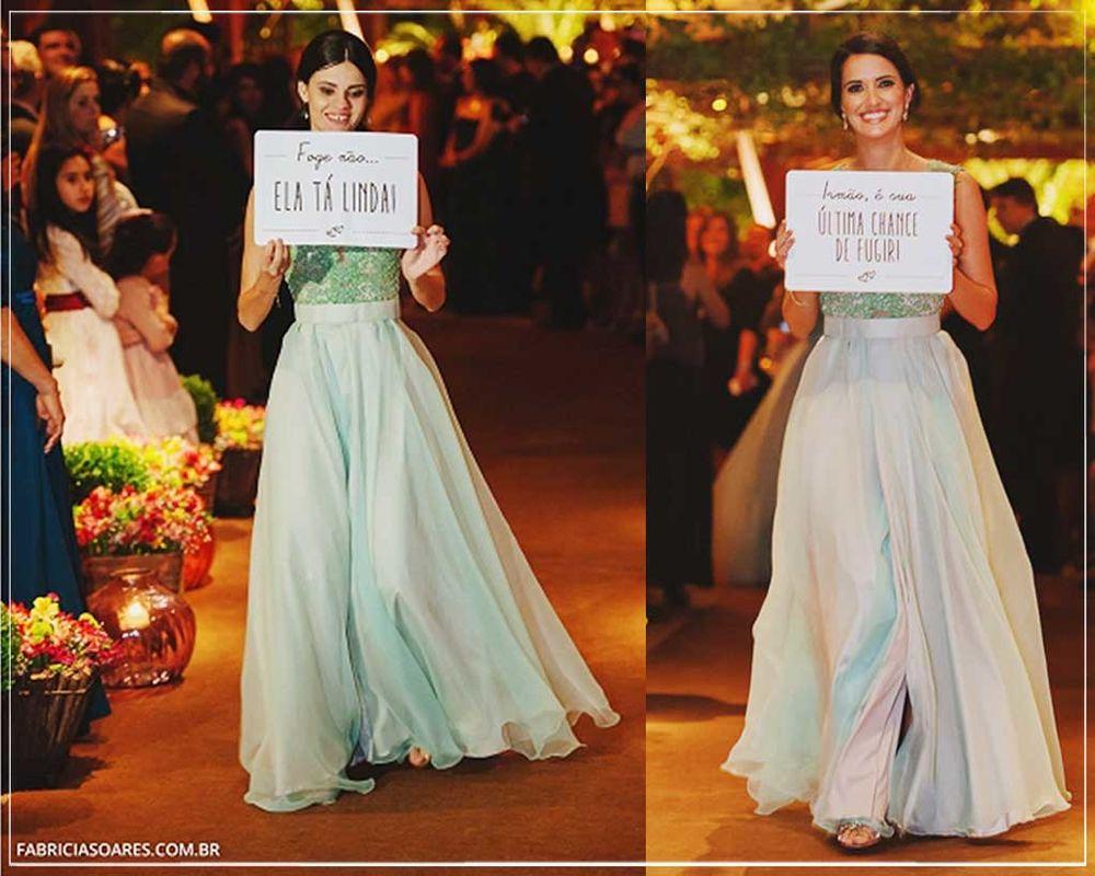Placas Cerimônia | Giselle Branco