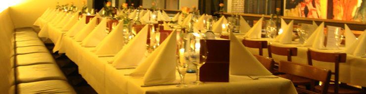 Beispiel: Tischdekoration, Foto: Umspannwerk Ost.