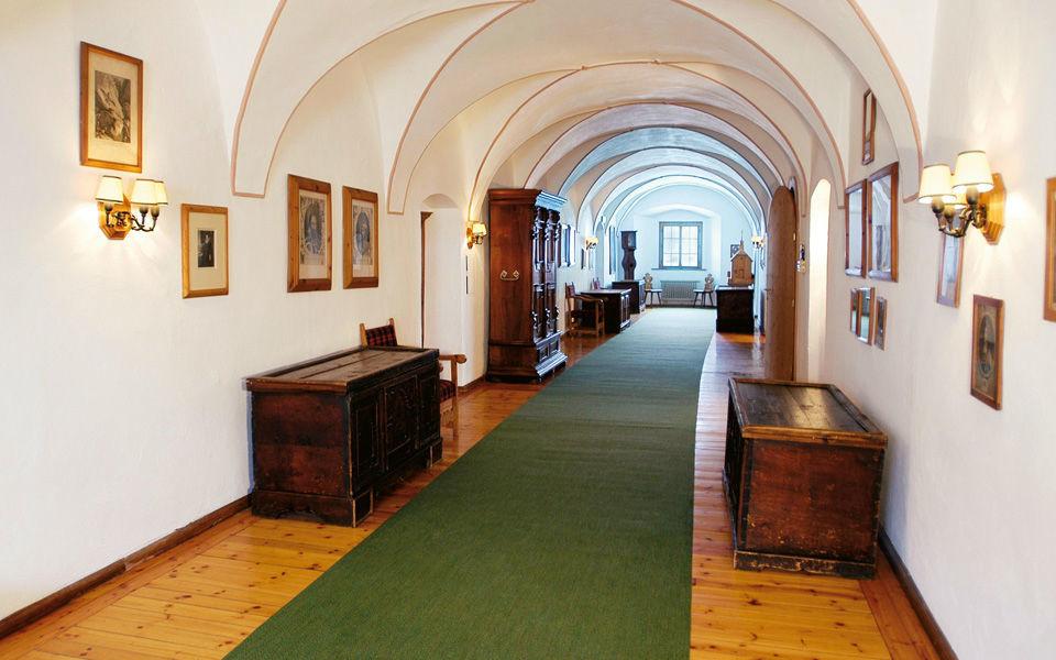 Beispiel: Innenbereich, Foto: Jagdschloss Kühtai.