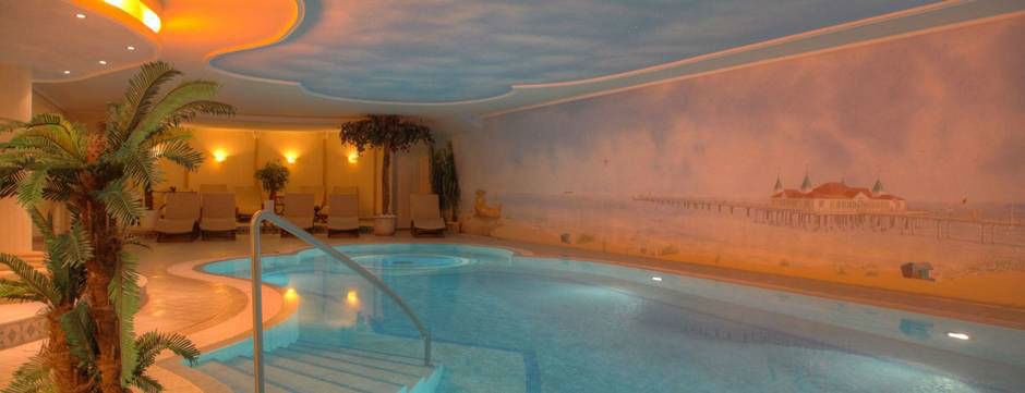Beispiel: Spa Bereich, Foto: Seetel Hotels.
