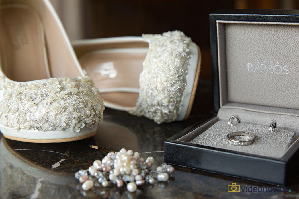 Detalle accesorios - Prepraración de la novia