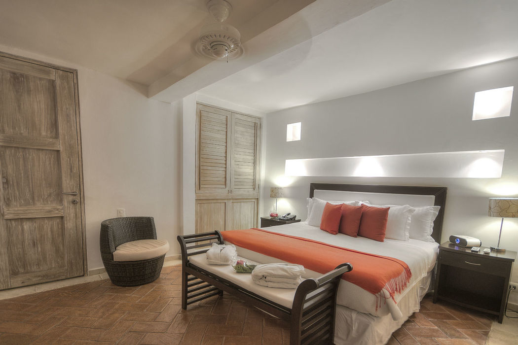 Habitación Superior Especificaciones: 13.44 mts2 área Disfrute de espacios confortables