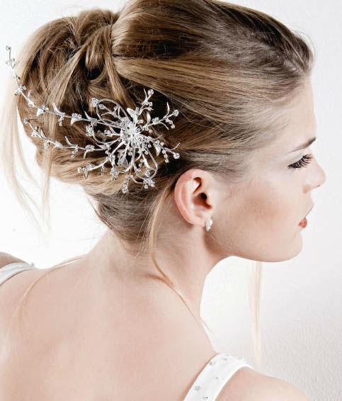 Beispiel: Haarschmuck für die Braut, Foto: Bigis Schatzkiste.