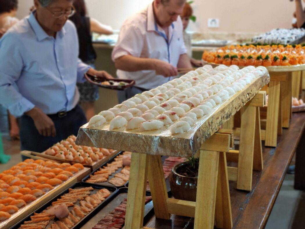 Buffet Japonês Sushi Eventos