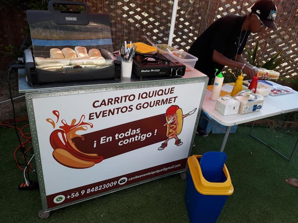 Carritos Iquique Eventos gourmet