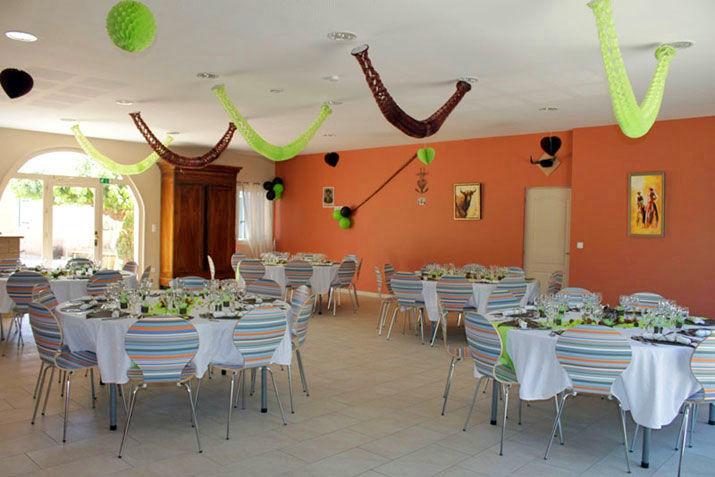 Salle de réception mariage 60 personnes (2011)