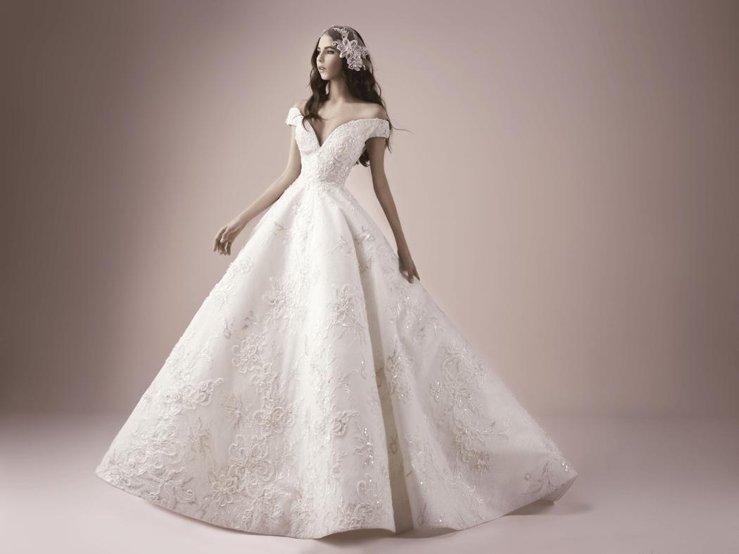 3270 Невероятное свадебное платье от Saiid Kobeisy