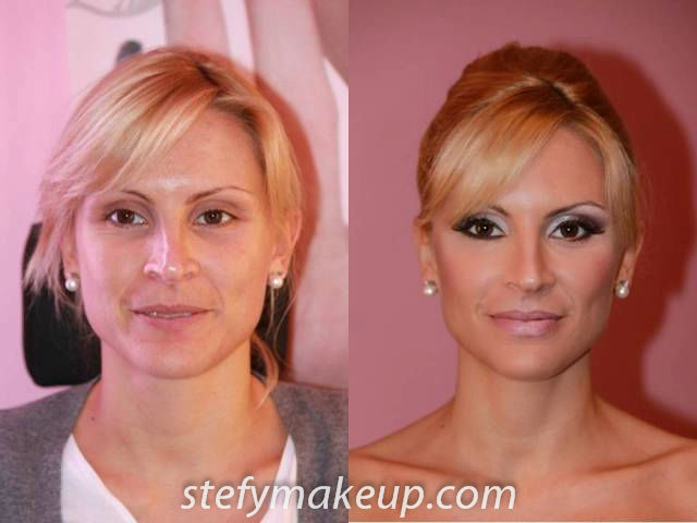 Stefania Bon, make up e acconciatura sposa